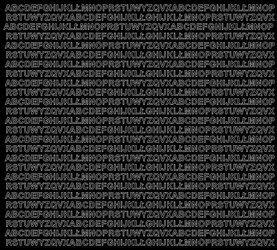 Litery samoprzylepne 5 milimetrów czarne z połyskiem