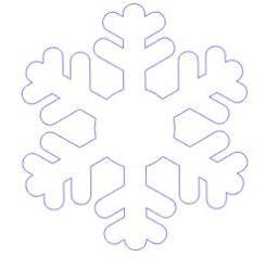 Naklejki na okno płatki śniegu śnieżynki 20 sztuk 4 cm