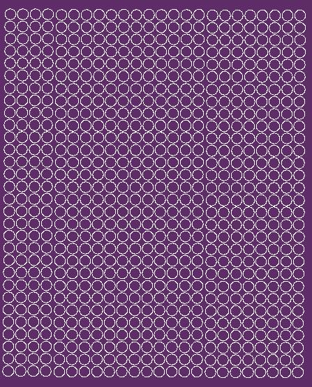 Koła grochy samoprzylepne 7 milimetrów fioletowy z połyskiem 720 szt