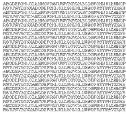 Litery samoprzylepne 5 milimetrów biały matowy