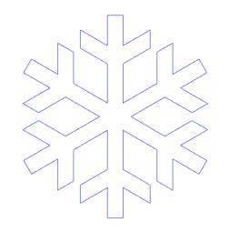 Naklejki na okno płatki śniegu śnieżynki 20 sztuk 4 cm matowe